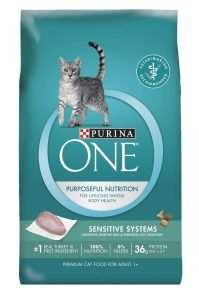 Best Purina ONE cat food for sensitive stomach vomiting
