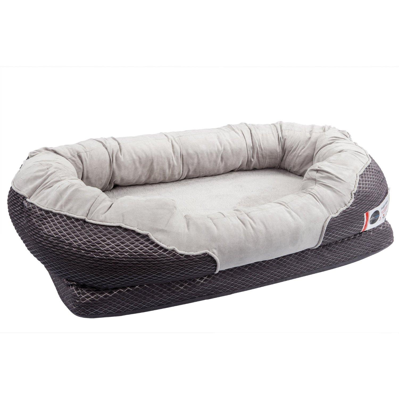 barksbar gray orthopedic dog bed best for cocker spaniels