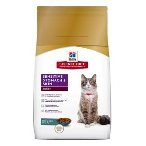 best hills science cat food for sensitive stomach vomiting