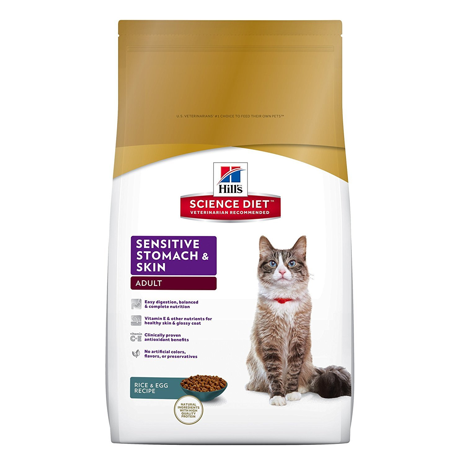 best cat food for sensitive stomach vomiting hills science diet cat food