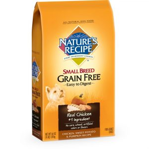 Nature's Recipe Best Dog Food For Small Breed Tears
