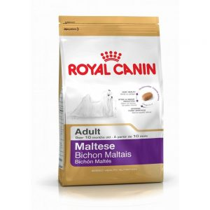 Royal Canin best dog foods for maltese tear stains