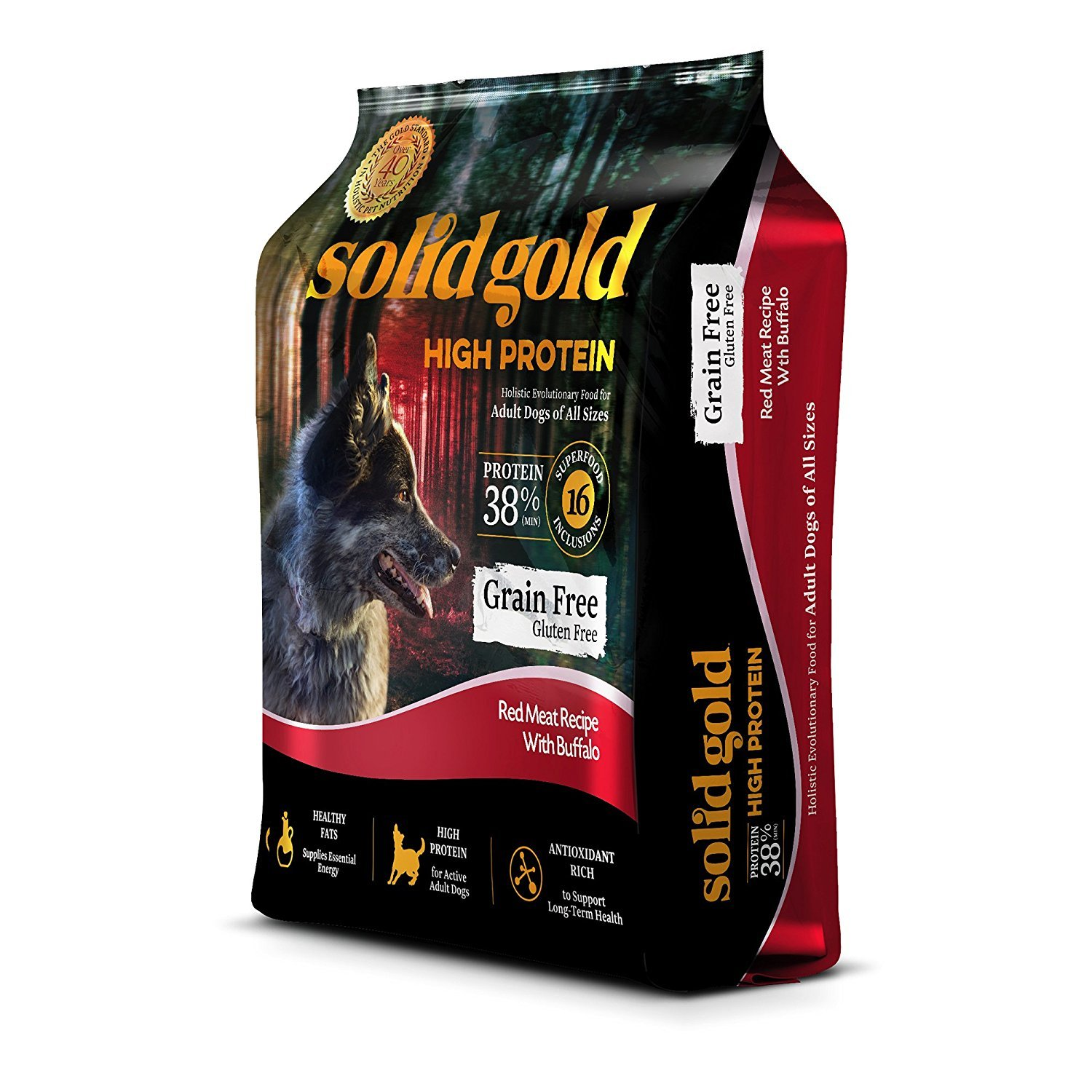 Solid Gold best dog food for american bull dogs