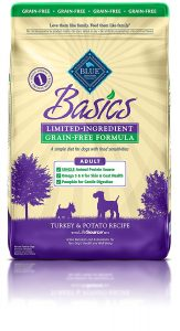 best BLUE Basics Dog Food For Boxers With Sensitive Stomachs