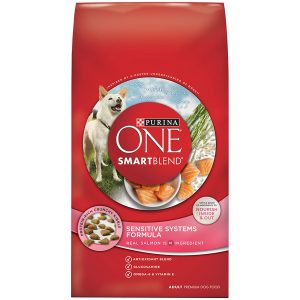 bets Purina ONE dog food for boxers with sensitive stomachs