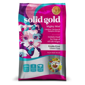Solid Gold dog food for small senior dogs