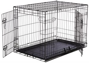 best amazonbasics dog crate for separation anxiety