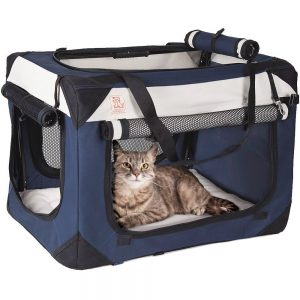petluv top rated cat carrier for nervous cats
