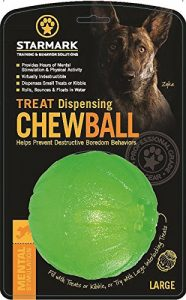 best treat dispensing ball for chewers