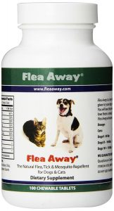Flea Away best Flea Tick and Mosquito Prevention for Dogs