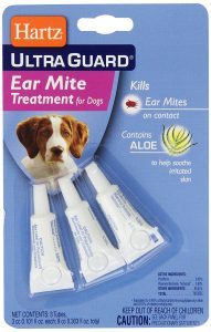 best Hartz UltraGuard ear mite medicine for dogs