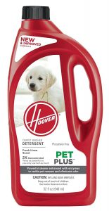 best Hoover carpet cleaner solutions for pets urine