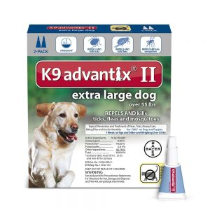 K9 Advantix Best Flea Tick and Mosquito Prevention for Dogs