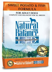 best Natural Balance dog food for sensitive stomach and diarrhea