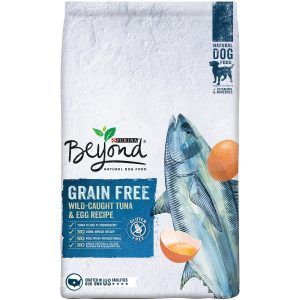 best Purina Beyond dog food for sensitive stomach and diarrhea