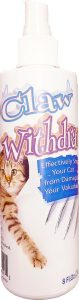 best Claw Withdraw no scratch spray for cats