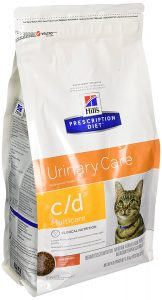 Best Hill's Pet Nutrition cat food for urinary crystals