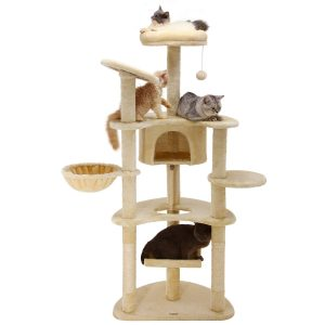 best Ollieroo Cat Tree for multiple cats