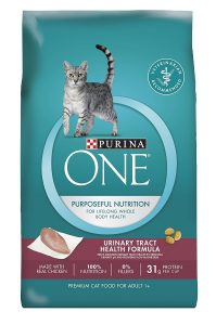 best Purina ONE cat food for urinary crystals