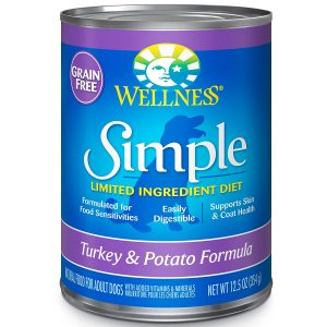 best Natural canned dog food for sensitive stomachs