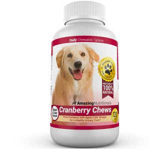 Best Amazing Nutritionals Cranberry Supplement For Dogs