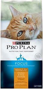 Best Purina Pro Plan Diet Dry Cat Food For Older Cats