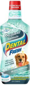 Best SynergyLabs dog dental water additive