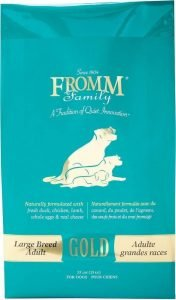 link to Fromm Adult Gold Large Breed Dog Food for german shepherds