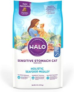 best halo cat food for hairballs