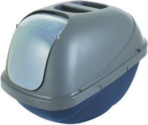best basic cat litter box for controlling odor