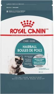 best Royal Canin cat food for hairballs